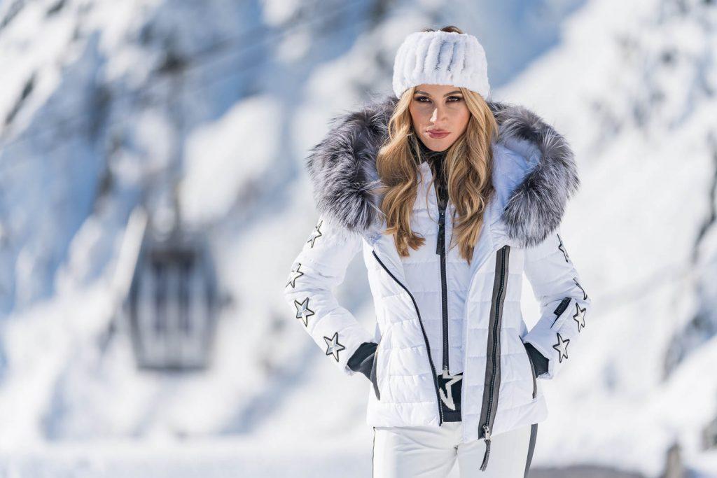 White Ski Jacket