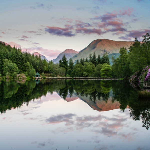 Reflection in Glencoe Lochan