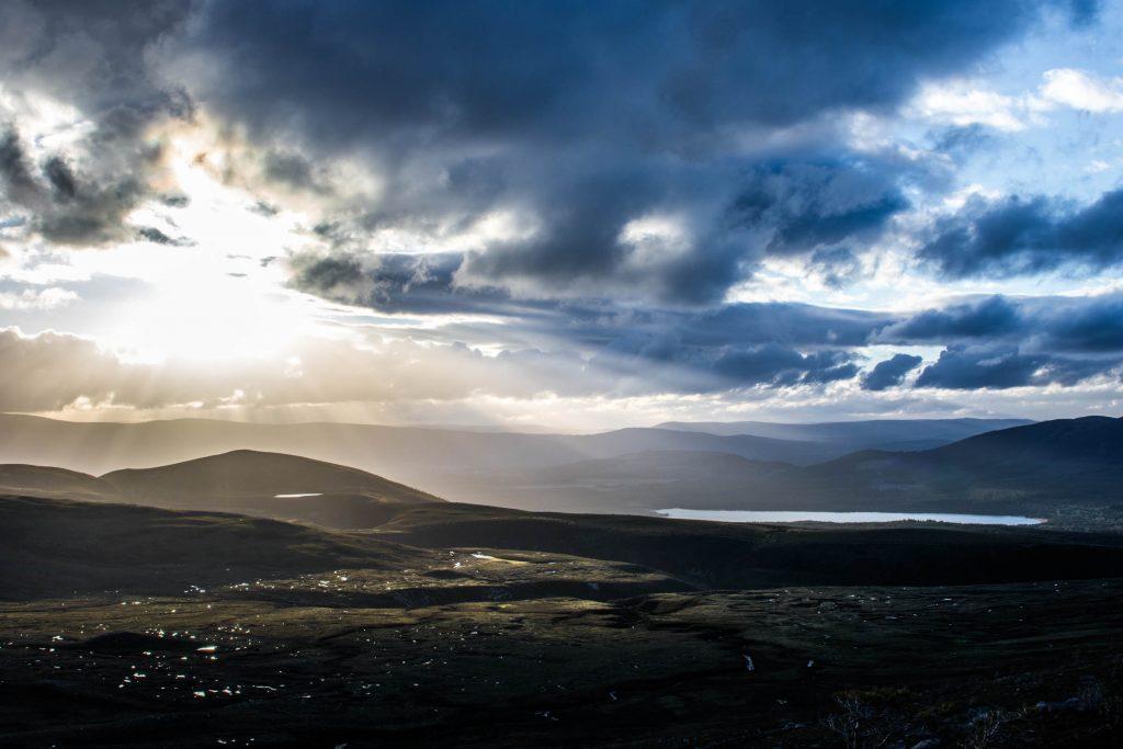 Light on Loch Morlich