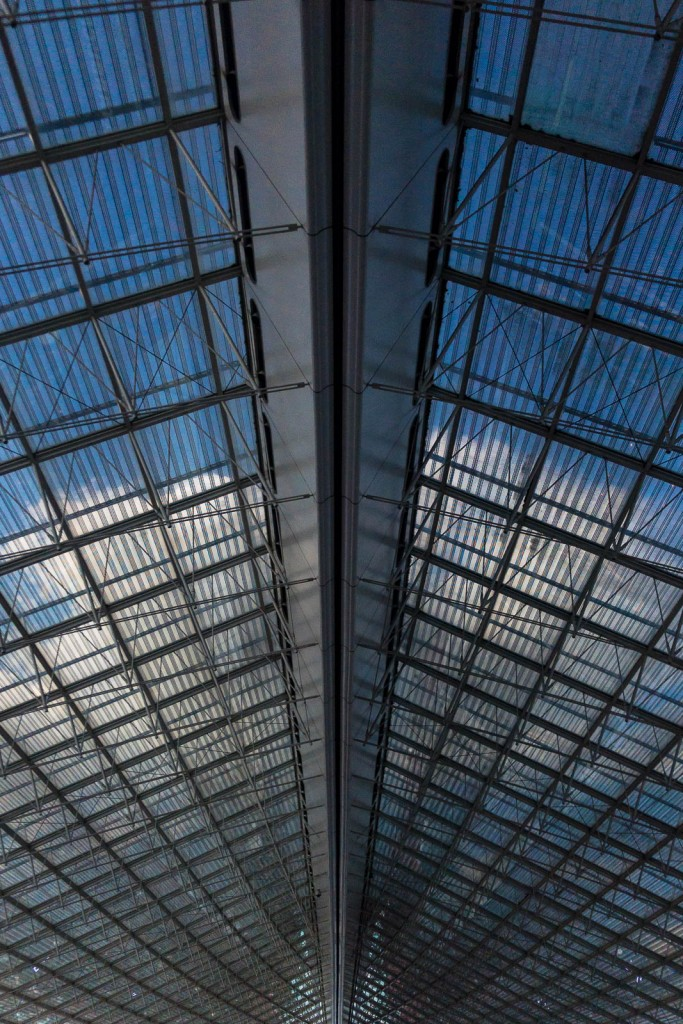 Paris Charles de Gaulle Airport Roof